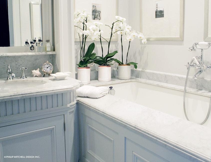 Bathrooms philip mitchell design inc for Bathroom design 9 x 11